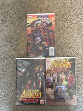 Marvel THE NEW AVENGERS (2010) #50 and FINALE #1 Variant + FINALE 2nd Printing