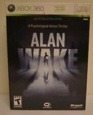 New! Alan Wake [Limited Collector's Edition] (Microsoft Xbox 360, 2010)
