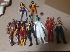 Marvel Legends DC Universe Fodder Lot Iron Man  DC  Customizers X8 figures