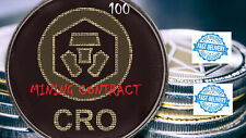 CRYPTO COM (CRO) Mining Contract   6 Hours   Get 100   Coins Guaranteed