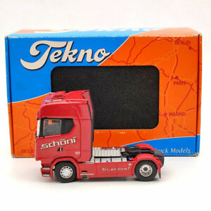 Tekno 1:50 SCANIA S-Serie Highlinet Kuehlauflieger Schoni CAB TRUCK UNIT ONLY