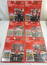 Michael Jordan Mini Standee Upper Deck Sets 1998 Bulls with Boxes Set of 6