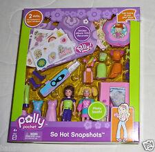 NEW 25 pc Polly Pocket So Hot Snapshots Lila Frame Photo Playset Set 2005 G8622