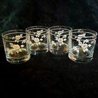 Pfaltzgraff Wyndham On The Rocks Highball Juice Glasses 10 Oz Tumblers Set of 4