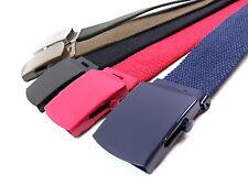Cinturones de hombre de lona