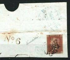 GB Irish MALTESE CROSS Piece IRELAND *Enniskillen*MX 1843 {samwells-covers}MA308