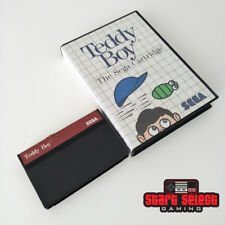 Teddy Boy Sega Master System SMS 1986 Working PAL | Aus Seller + FREE POST