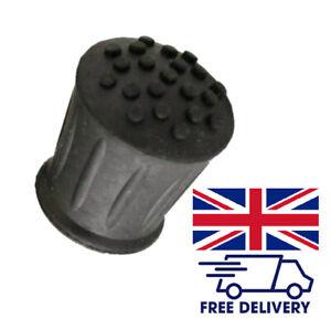 2 | 3 | 4 Walking Stick Ferrules Black Rubber Cane Crutch Bottom End Heavy Duty