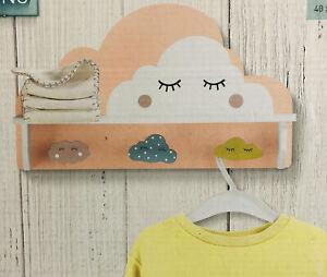 Children's Bedroom Coat Rack Shelf Livarno Living 100% wood.