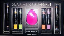Max Studio Sculpt & Correct 7 pc Corrective Highlighter Concealer Contour Set