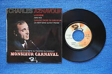 CHARLES AZNAVOUR / EP BARCLAY 70862 / VERSO 2  LABEL 2 / BIEM 1965 ( F )