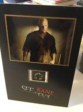 Wrestler Kane See No Evil movie slide numbered display