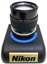 Excellent+ Nikon AI-S Nikkor 105mm f/2.5 Camera Prime lens Manual Focus ais