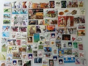 300 Different Slovenia Stamps Collection