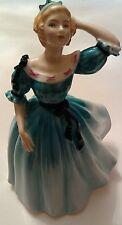 Royal Doulton Porcelain Figurine Celeste Blue Dress Peggy Davies HN2237 1959
