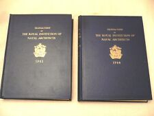 Transactions of The Royal Institution Of Naval Architects 1963 and 1964