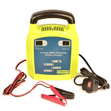 12v 12A Coche completamente automático rápido & Trickle Cargador de batería de plomo-ácido Gel