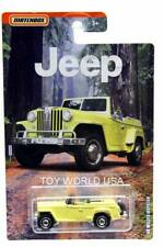 2019 Matchbox Jeep Series '48 Willys Jeepster