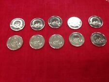 A To Z 10p Coins, 10x Letter Q, Queue UNCIRCULATED, Free Postage