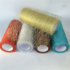 Organza Tulle Roll Spool Fabric Ribbon DIY Craft Crafting Party Gift Decoration
