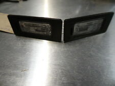 5810 D5C 2010-2014 MK2 5J SKODA FABIA 5 DOOR REAR NUMBER PLATE LIGHTS (PAIR)