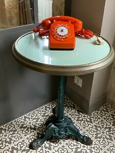 Téléphone orange années 70 - Vintage - Socotel S63 - Old French phone