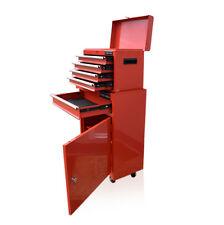 360 US PRO TOOLS RED TOOL CHEST ROLLCAB BOX ROLLER CABINET BALL BEARING DRAWERS