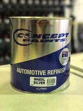 Concept Paints Automotive Refinish Wheel Silver 4LT, Automotive Paint, Alloy