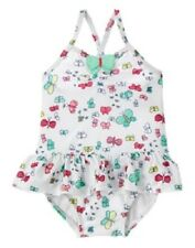 Gymboree Lakeside Stroll Butterfly Print One-Piece Swimsuit Baby Girl 18-24 Mos