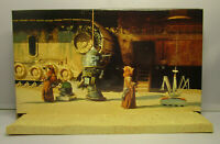1997  Kenner Star Wars POTF 2 - Purchase of the Droids Tatooine Diorama & Stand