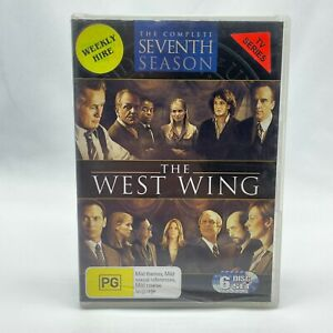 The West Wing Season 7 (DVD, 2005, 6-Disc Set) Region 4 With Bradley Whitford