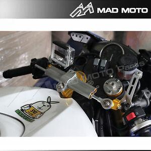 Steering Damper Stabilizer Bracket Mount Kit For YAMAHA R6 2011 12 13 2014 2015