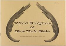 Book: American New York State Carved Wood Folk Sculpture 1975 Exhibit Catalog