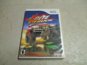 Excite Truck (Nintendo Wii, 2006) Video Game Complete Tested