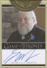 George RR Martin Game of Thrones 2 Autograph Trading Card Auto Rittenhouse