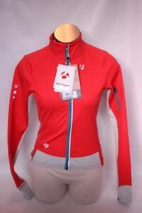 New Bontrager Women's RXL 180 Softshell Orange Jacket XS Cycling Windproof