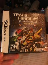 Brand New Sealed.    Nintendo Ss Trans Formers Prime The Game