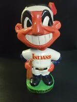1962 Cleveland Indians MLB Chief Wahoo Bobblehead Nodder Green Base