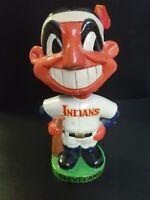 1962 Cleveland Indians MLB Chief Wahoo Bobblehead Nodder Green Base