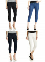 HUE Women's Original Denim Capri Leggings, Assorted Colors