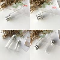 Botella plástico transparente loción viaje champú líquido contenedor maquillaje