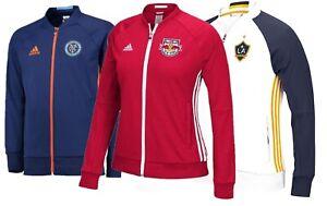 adidas Women New York City FC Galaxy LA Red Bull NY MLS Soccer Training Jacket