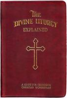 The Divine Liturgy Explained English Greek Orthodox Christian Prayer Book Guide