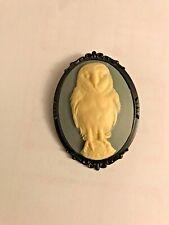 Barn Owl Brooch, Owl Brooch, Bird Brooch