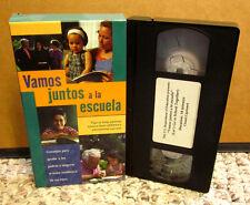 SPANISH EDUCATION parenting Vamos Juntos Escuela VHS Maria Elena Salinas 2000