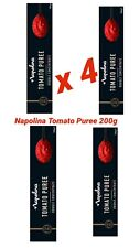 4 x Napolina Tomato Puree Double Concentrate 200g food, italian cooking