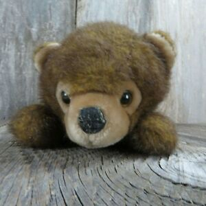 Vintage Teddy Bear Plush Laying Down Applause Stuffed Animal Doll 1988 Made in K
