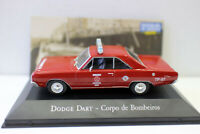 1/43 Scale Diecast Model Car Dodge Dart Corpo de bombeiros Police car