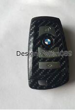 CARBON Schwarz Glanz Schlüssel Folie BMW F-Serie F01 F02 F10 F11 F12 F13 F25 uvm