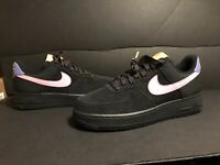 NIKE AIR FORCE 1 07 LV8 ACG BLACK FLAMINGO PURP MEN'S SZ 9 NEW CD0887-001 NOLID
